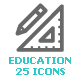 School & Education Mini Icon - GraphicRiver Item for Sale
