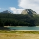 Panorama of the Black Large Lake - VideoHive Item for Sale