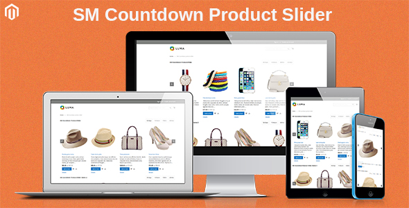 SM Countdown Product Slider - Responsive Magento 2 Module - CodeCanyon Item for Sale