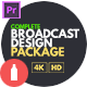 Complete Broadcast Design Package Essential Graphics | Mogrt - VideoHive Item for Sale