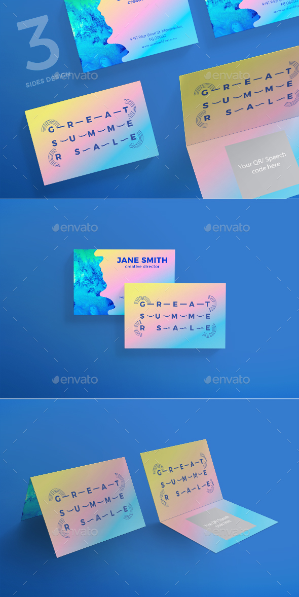 great summer sale business card corporate business cards - Business Cards For Sale