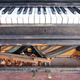 Old, broken, abandoned piano - PhotoDune Item for Sale