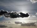 Dark cloud on the sky in backlight - PhotoDune Item for Sale