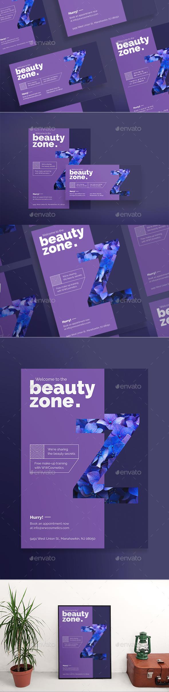 Beauty Zone Flyers - Corporate Flyers