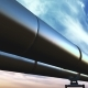 Pipelines Loop Perspective Tracking, Blue Clouds - VideoHive Item for Sale