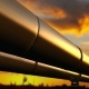 Pipelines Loop Perspective Tracking, Orange Clouds - VideoHive Item for Sale