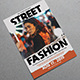 Street Fashion Torn Flyer