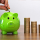 Saving Money with a Piggy Bank - VideoHive Item for Sale