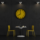 Black and yellow coffee room - PhotoDune Item for Sale
