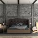 Retro master bedroom in a loft - PhotoDune Item for Sale
