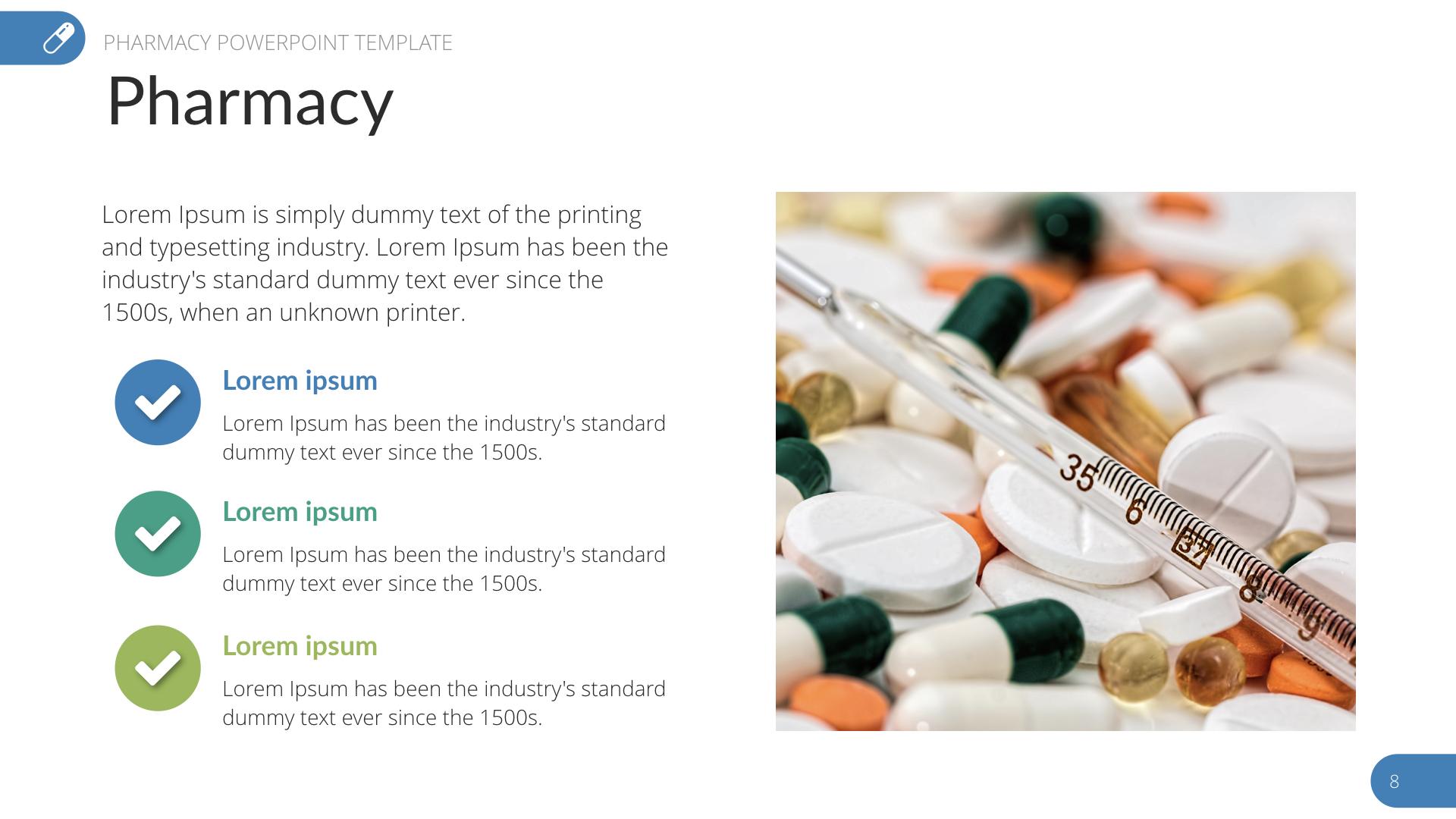 pharmacy ppt templates