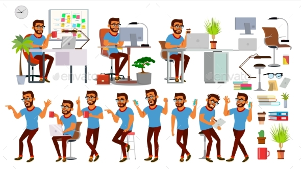 Business Man Character - Concepts Business