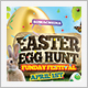 Easter Festival Flyer - GraphicRiver Item for Sale