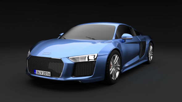 AuAudi R8 V10 2016di - 3DOcean Item for Sale