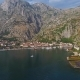 Bay of Kotor and Old City in Montenegro Aerial - VideoHive Item for Sale