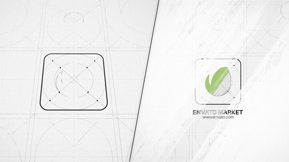 Drawing Logo Reveal (Abstract) #Envato #Videohive U2013 After Effects Templates
