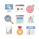 Project Management Color Vector Icons Pack