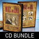 Vintage Wedding CD - DVD Cover Bundle - GraphicRiver Item for Sale