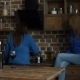 Happy Female Friends Enjoying Wine in the Kitchen - VideoHive Item for Sale