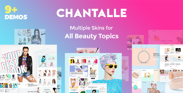 Image of Chantalle - Multipurpose Woman Fashion Elementor WordPress Theme