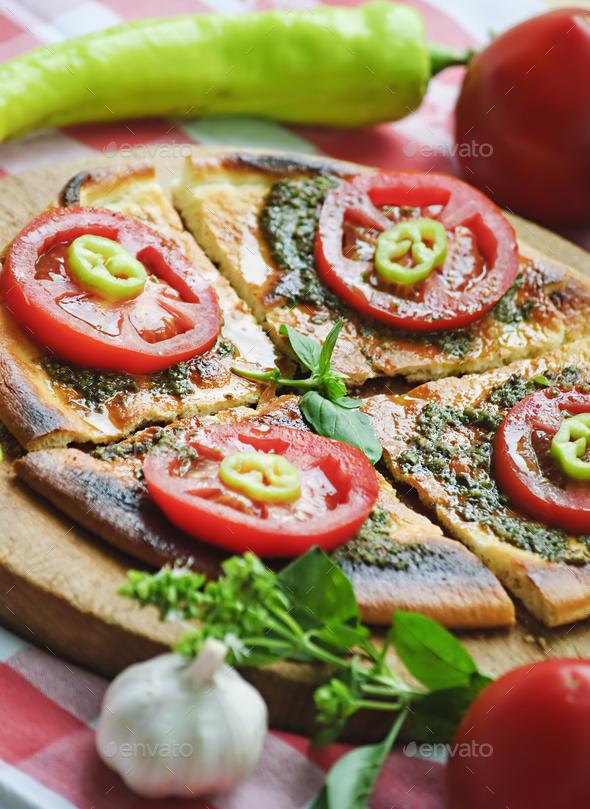 mediterranean cuisine - Stock Photo - Images