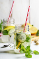 Lemon and cucumber drink - PhotoDune Item for Sale