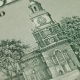 Independence Hall on 100 Dollars - VideoHive Item for Sale