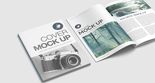 Magazine, Brochure, Catalog Mock-Ups