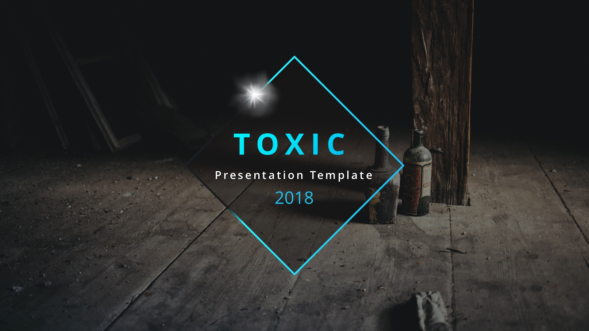 Toxic Creative Google Slide Template by ESTE_Studio   GraphicRiver