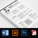 3 Pages Resume CV Template - GraphicRiver Item for Sale