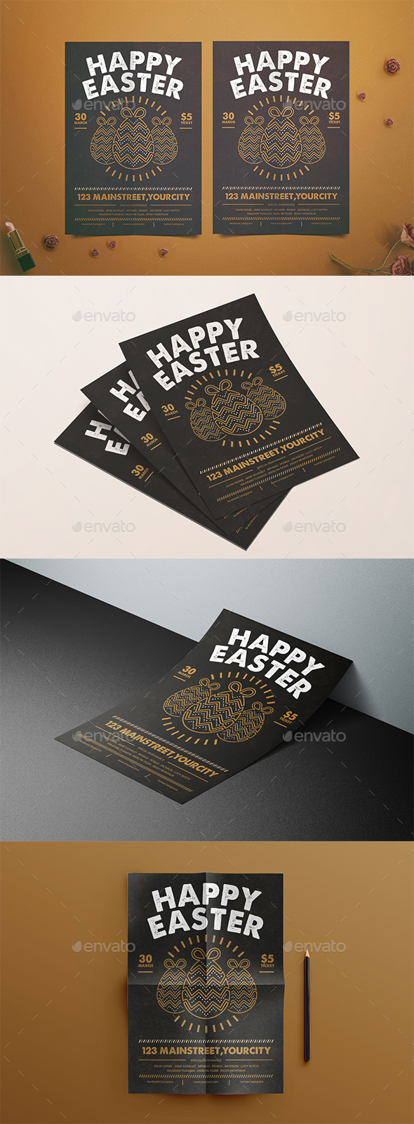 Happy Easter Flyer - Events Flyers