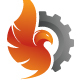 Fire Phoenix Logo - GraphicRiver Item for Sale