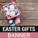 Easter Gifts Banner - GraphicRiver Item for Sale
