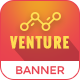 Venture | Business HTML 5 Animated Google Banner