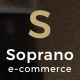 Soprano - Minimalistic Multi-Concept WordPress Theme