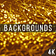 Gold Particles Abstract Backgrounds - VideoHive Item for Sale