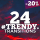 Trendy Transitions Pack - VideoHive Item for Sale