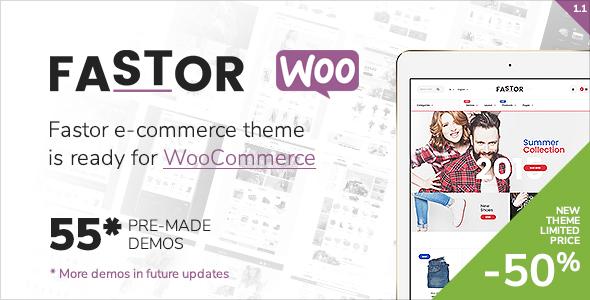 Fastor - Multipurpose WooCommerce Theme - WooCommerce eCommerce