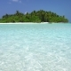 Perfect Wild Maldives Island with Turquoise Sea View - VideoHive Item for Sale