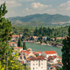 Inspirational beautiful town and mountains in Croatia - PhotoDune Item for Sale