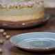 Pistachio Mousse Cake, Cheesecake on Plate - VideoHive Item for Sale