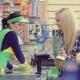 Woman at the Cash Desk at Grocery Store - VideoHive Item for Sale