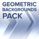 Geometric Backgrounds Pack - VideoHive Item for Sale
