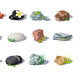 Cartoon Colorful Stones Set - GraphicRiver Item for Sale
