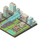 Isometric Cityscape Concept - GraphicRiver Item for Sale