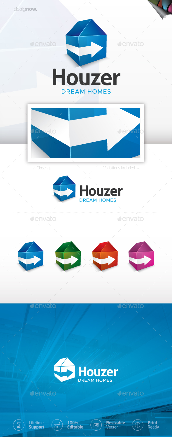 Home and House Logo - Buildings Logo Templates