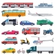 Transport Vector Public Transportable Vehicle - GraphicRiver Item for Sale