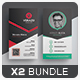 Business Card Bundle 51 - GraphicRiver Item for Sale