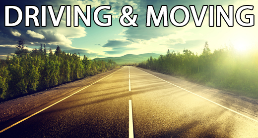 Driving & Moving Music