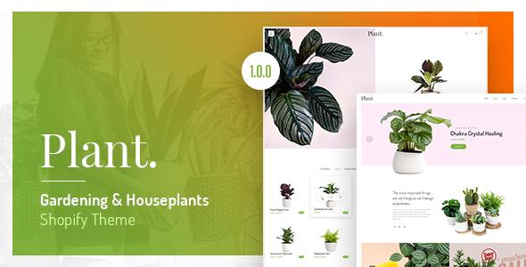 Image of Plant - Gardening & Houseplants Shopify Theme